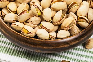Sea Salt Roasted Pistachios