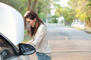 In trouble, Car breakdown