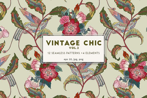 Patterns - Vintage Chic vol.2