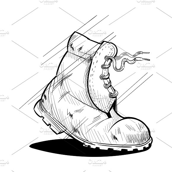 Illustration Of Shoes