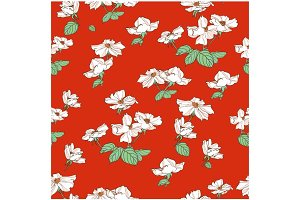 Chinese rose pattern