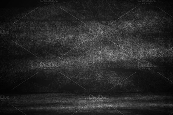 Education Concept Abstract Dark Scratch On Empty Blank Studio Copy Space For Text