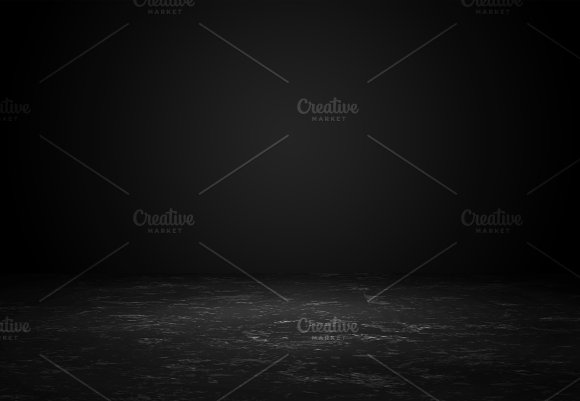 Education Concept Abstract Dark Chalkboard Blackboard With Wooden Frame Empty Blank Copy Space For Text