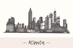 Atlanta skyline (USA)