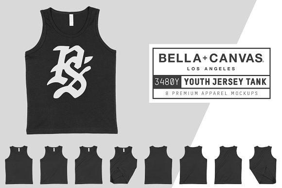 Bella Canvas 3480Y Youth Jersey Tank