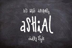 Ashial-Chalky font