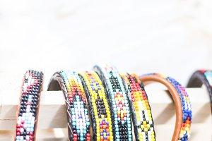 colorful variety bracelets handmade
