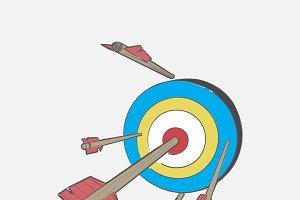 Illustration of dart