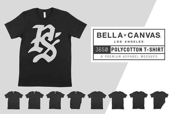 Bella Canvas 3650 PolyCotton T-Shirt