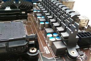 Motherboard VRM Capasitor