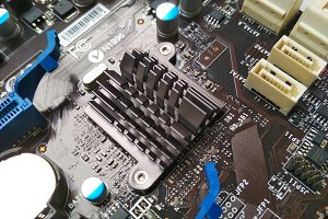 Motherboard Southbridge Heatsink