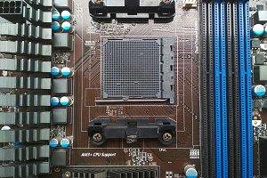motherboard AM3+ socket