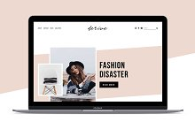 Squarespace Template: Derive by Erica Hartwick in Websites