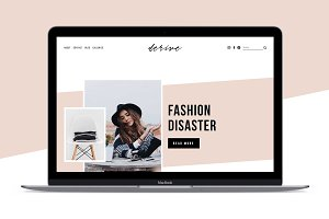 Squarespace Template: Derive