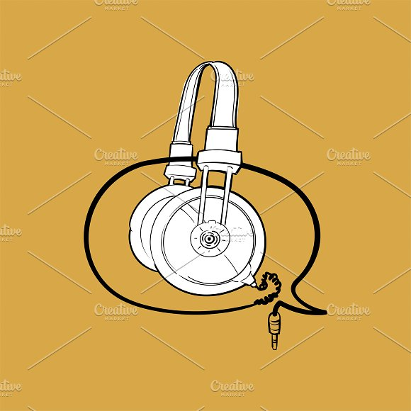 Illustration Music Entertainment Con