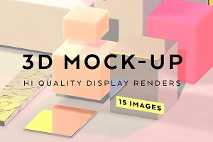 3d Geometry display renders 15 image