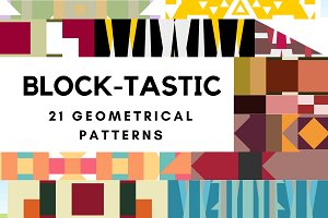 BLOCK-TASTIC Geometrical Patterns