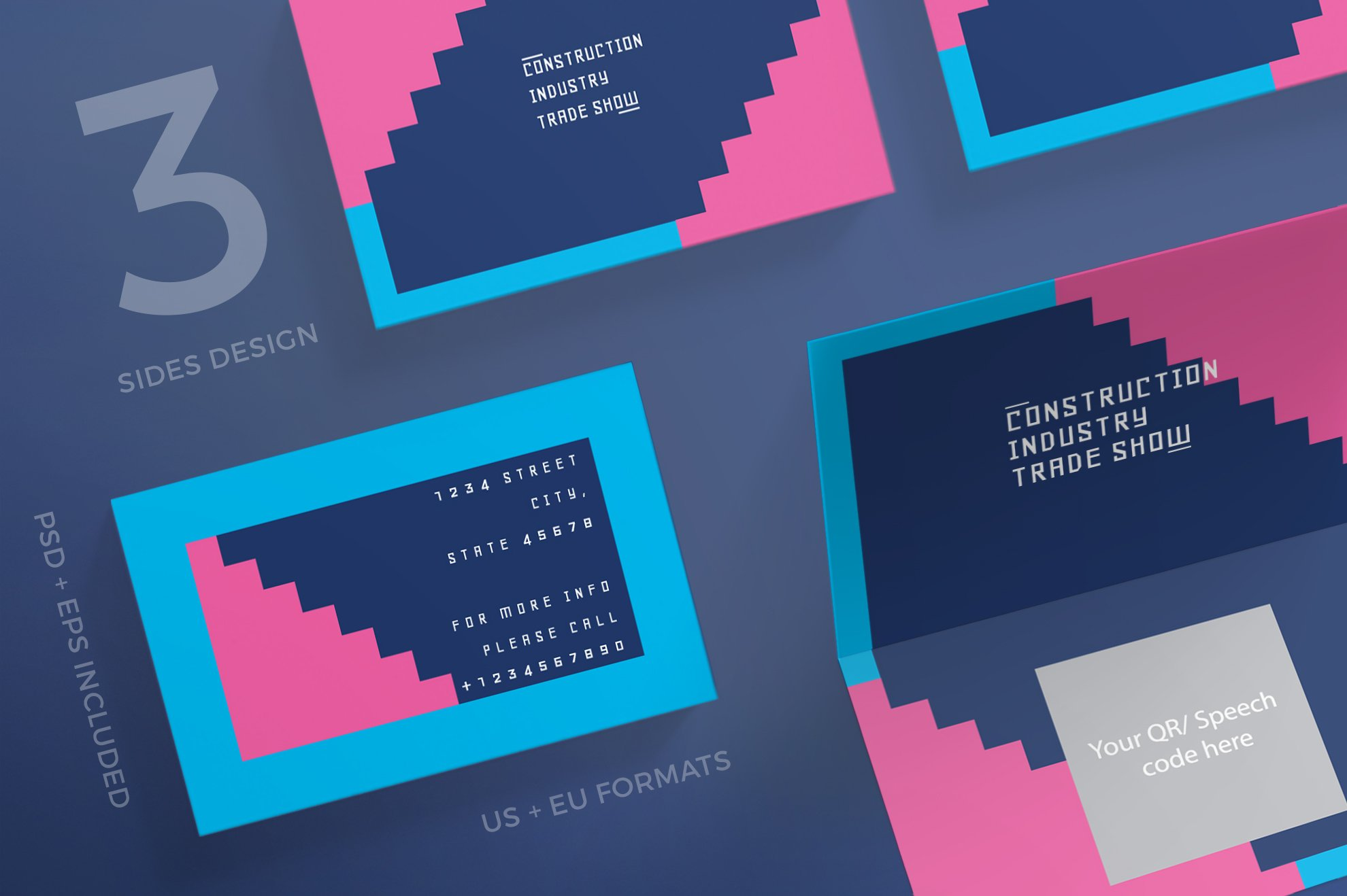 Business Cards | Industry Show ~ Business Card Templates ~ Creative ...