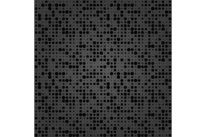Seamless Modern Vector Pattern With Stars