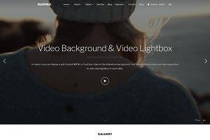 Inspiro - Fullscreen Portfolio Theme