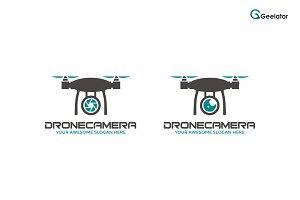 Drone Camera Logo Template