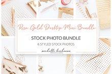 Stock Mini Bundle - Rose Gold Office