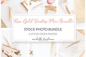 Stock Mini Bundle - Rose Gold Office