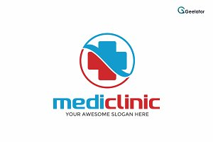 MediClinic Logo Template