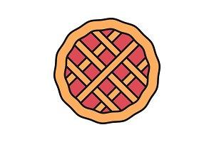 Pie color icon