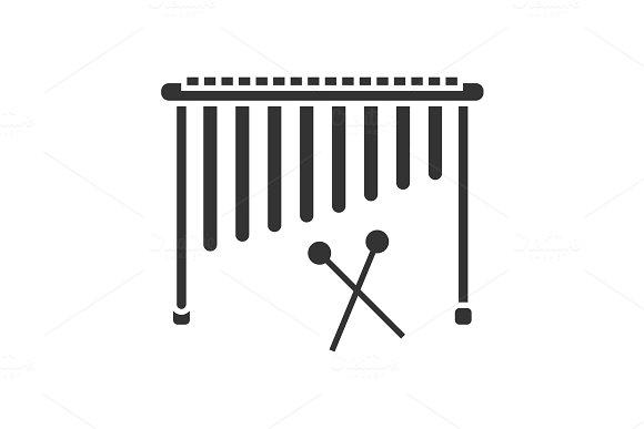 Marimba Glyph Icon