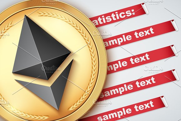Background Of Ethereum Infographic
