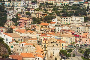 Salerno city in Italy