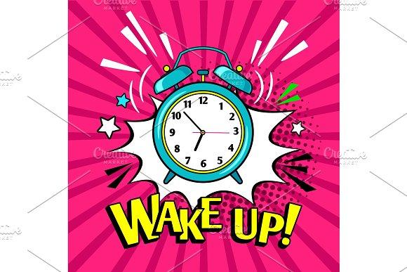 Wake Up Funny Alarm Clock