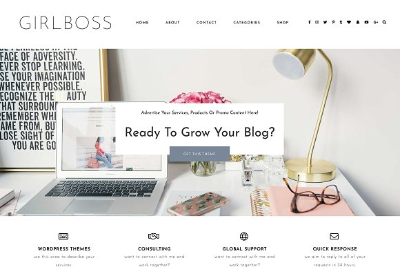 WordPress Theme Girlboss