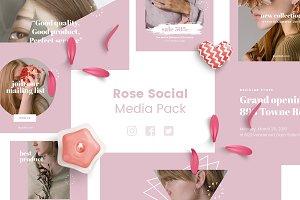 Rose Social Media Kit