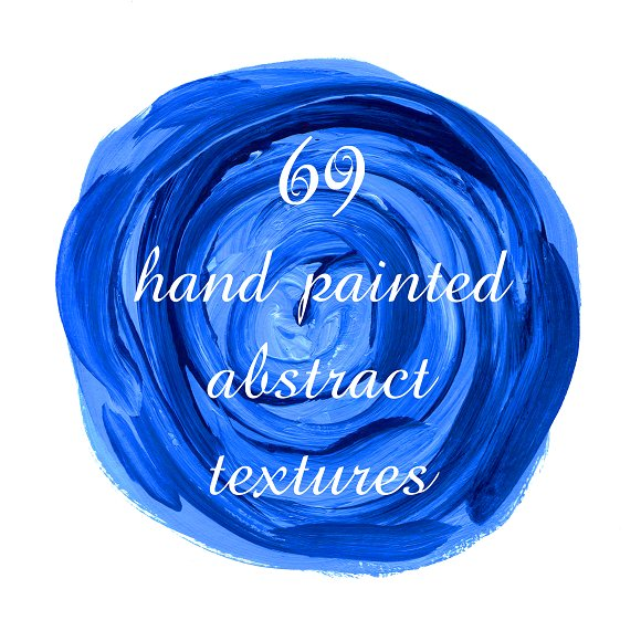 Set Of 69 Hand Painted Textures
