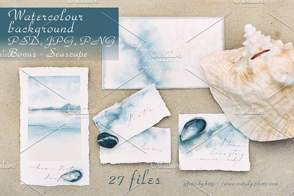 Marble Watecolor Backgrounds