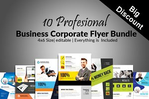 10 Business Flyers Bundle Vol:8