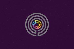 Lenscope Logo Template