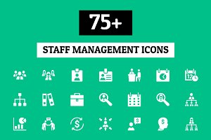75+ Staff Management Icons