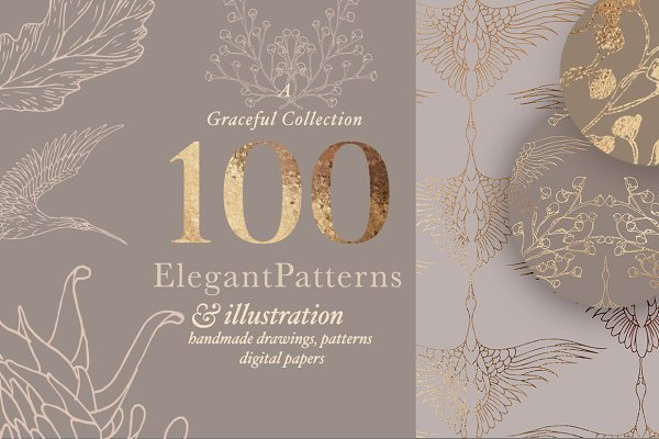 Elegant Patterns & Illustrations