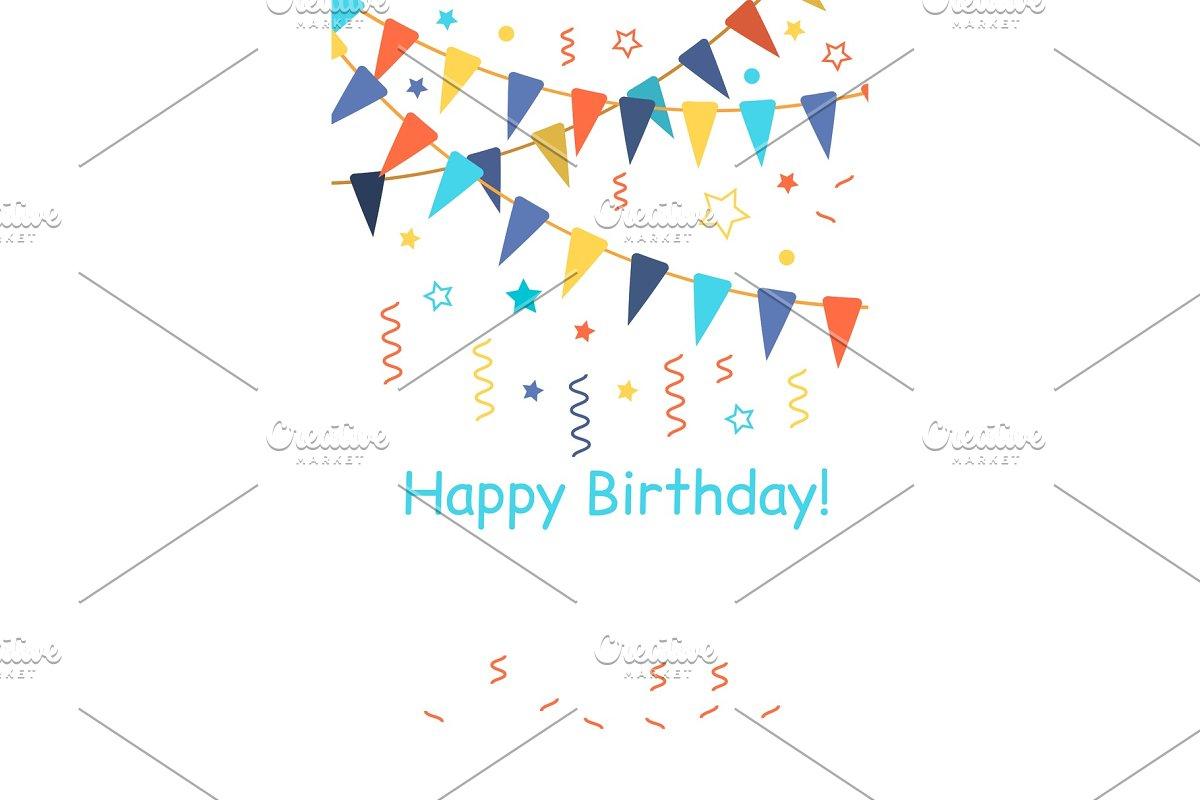 Confetti For Birthday Carnival Celebration Anniversary And Holiday Party Background