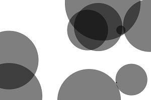 Abstract circles illustration background