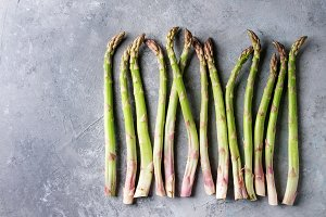 Young Green asparagus