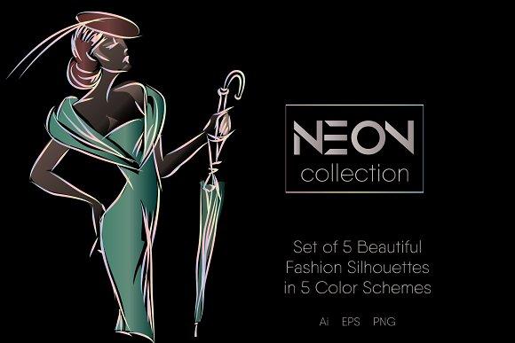 Beautiful Fashion Silhouettes