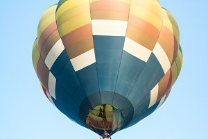 colorful of hot air balloons