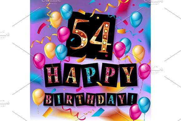 54th Years Anniversary