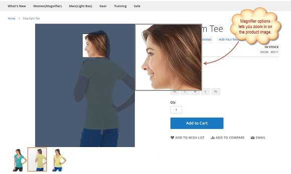 Magento 2 Product Image Zoom FME