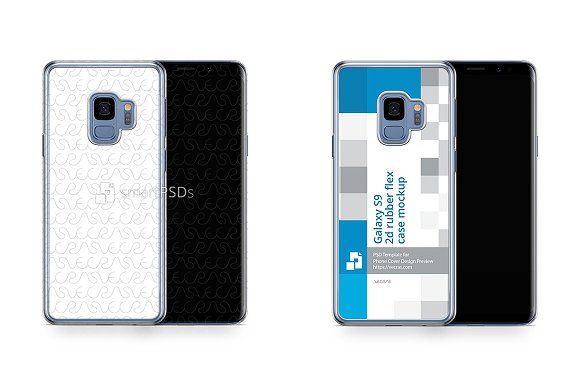 Samsung Galaxy S9 2d PC Clear Case