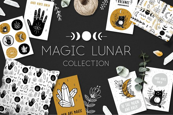 Objects: lokko studio - MAGIC LUNAR collection 100+
